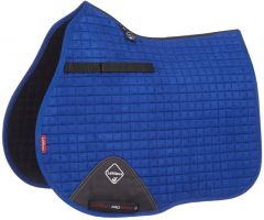 LeMieux ProSport Suede GP/Jump Square Saddle Pad Benetton Blue