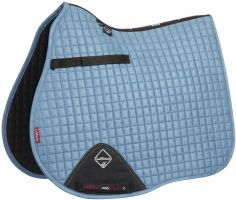 LeMieux ProSport Suede GP/Jump Square Saddle Pad Ice Blue