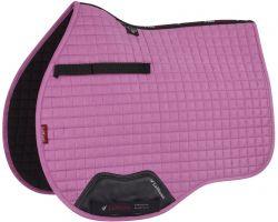 LeMieux ProSport Suede GP/Jump Square Saddle Pad Lavender