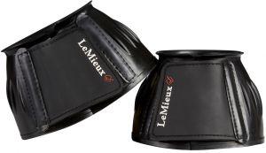 LeMieux Rubber Bell Boots Black