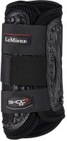 LeMieux Shoc Air Cross Country Front Boots Black