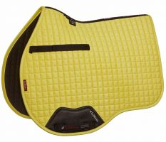LeMieux Suede GP Saddle Pad Citron
