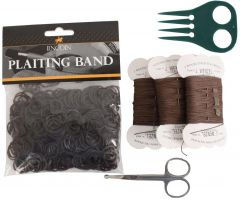 Lincoln Plaiting Kit Brown