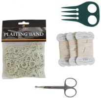 Lincoln Plaiting Kit White
