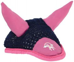 Little Rider Unicorn Fly Veil Navy/Pink