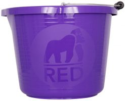 Red Gorilla Premium Bucket Purple
