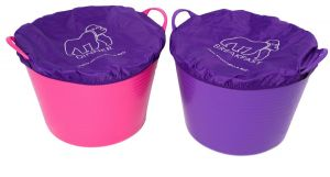 Red Gorilla Tub Cover Set Purple