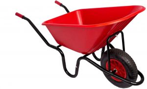 Red Gorilla Wheelbarrow Unassembled Red
