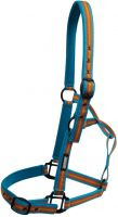 Roma Co-Ordinate Headcollar Blue/Orange/Yellow