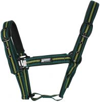 Roma Co-Ordinate Headcollar Dark Green/Black/Green