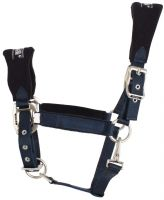 Roma Fleece Shaped Headcollar Navy
