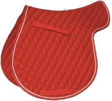 Roma Grand Prix High Wither All Purpose Numnah Red/White