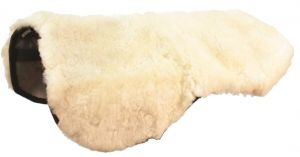 Roma Merino Sheepskin Seat Saver White