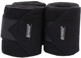 Roma Thick Polo Bandages Black