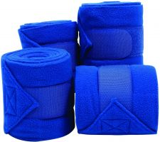 Roma Thick Polo Bandages Bright Blue