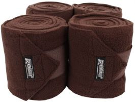 Roma Thick Polo Bandages Coffee