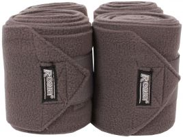 Roma Thick Polo Bandages Grey