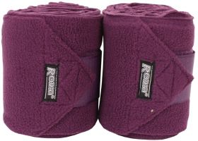 Roma Thick Polo Bandages Purple