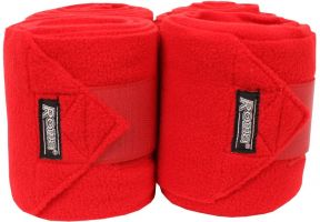 Roma Thick Polo Bandages Red