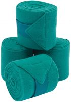 Saxon Co-ordinate Fleece Bandages 4 Pack Teal