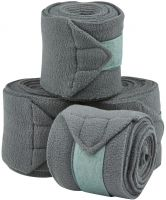 Saxon Co-ordinate Fleece Bandages Grey