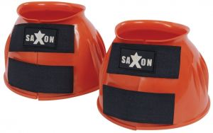 Saxon Double Tape PVC Ribbed Bell Boots Orange