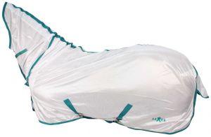 Saxon Softmesh Combo Fly Rug White/Green/Blue