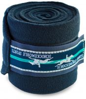 Schockemohle Fleece Bandages Dark Navy