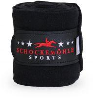 Schockemohle Fleece Bandages Simply Black