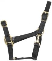Shires Adjustable Headcollar Black
