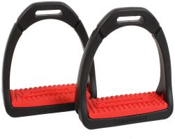 Shires Adults Compositi Premium Profile Stirrup Red