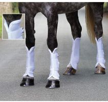 Shires Airflow Turnout Socks White