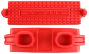 Shires Child Compositi Premium Profile Treads Red