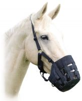Shires Comfort Grazing Muzzle Black