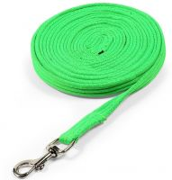 Shires Cushion Web Lunge Line Green