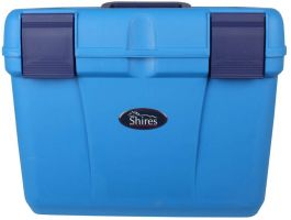 Shires Deluxe Grooming Box Blue/Navy