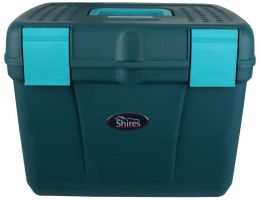 Shires Deluxe Grooming Box Dark Green/Green