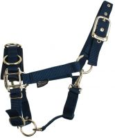 Shires Economy Nylon Lunge Cavesson Navy