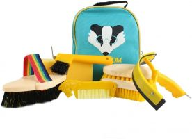 Shires Ezi-Groom Character Groom Kit Badger