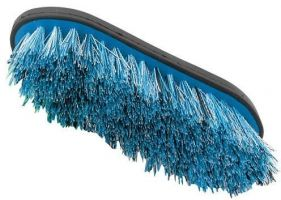 Shires Ezi-Groom Large Dandy Brush Blue