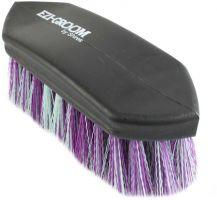 Shires Ezi-Groom Shape Up Dandy Brush Purple/Green