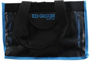 Shires Ezi-Groom Spick & Span Grooming Kit Bag Black/Blue