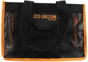 Shires Ezi-Groom Spick & Span Grooming Kit Bag Black/Orange