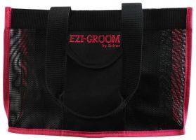 Shires Ezi-Groom Spick & Span Grooming Kit Bag Black/Pink