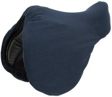 Shires Fleece Saddle Cover Navy