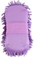 Shires Microfibre Grooming Sponge Purple