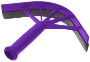 Shires Plastic Sweat Scraper Purple