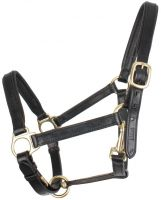 Shires Ragley Leather Headcollar Black