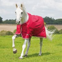 Shires Tempest Original Air Motion 0g Lite Weight Standard Neck Turnout Rug Red/Red/White