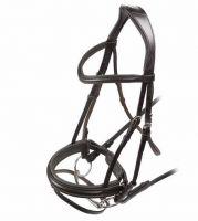 Shires Velociti Dressage Flash Bridle Black